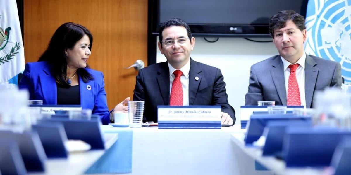 Sistema de las Naciones Unidas apoyaría una reforma fiscal, de Servicio Civil y de Partidos Políticos