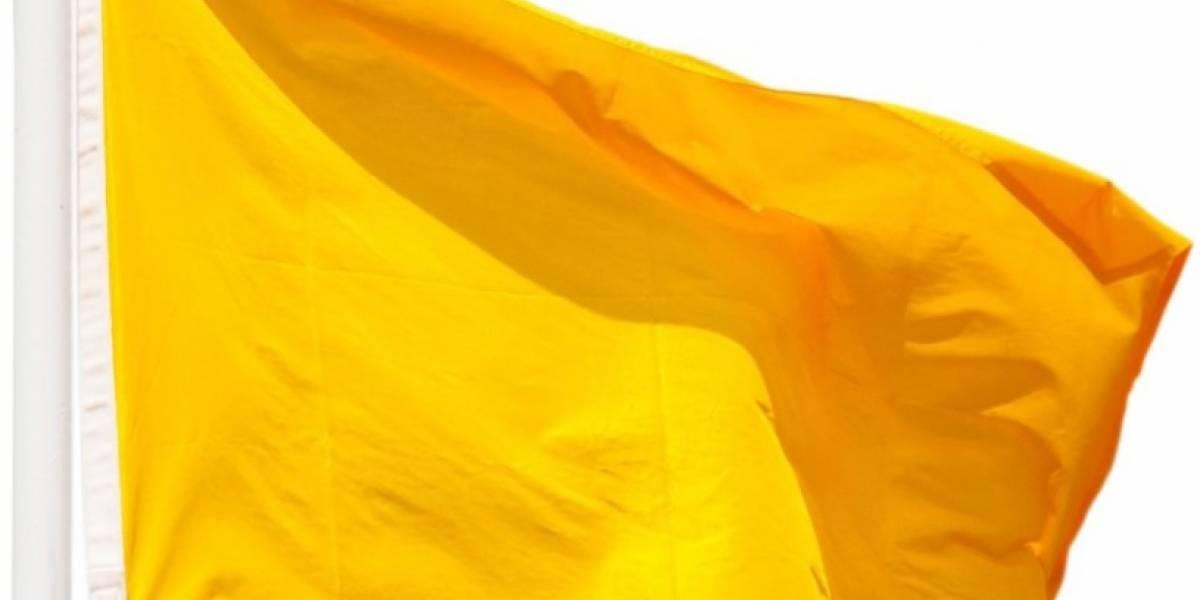 Seis playas con bandera amarilla