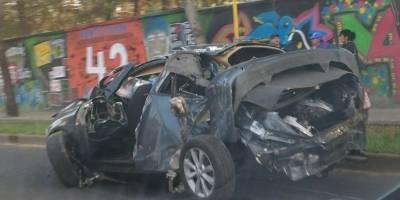 Mueren dos personas en accidente automovilístico en Azcapotzalco