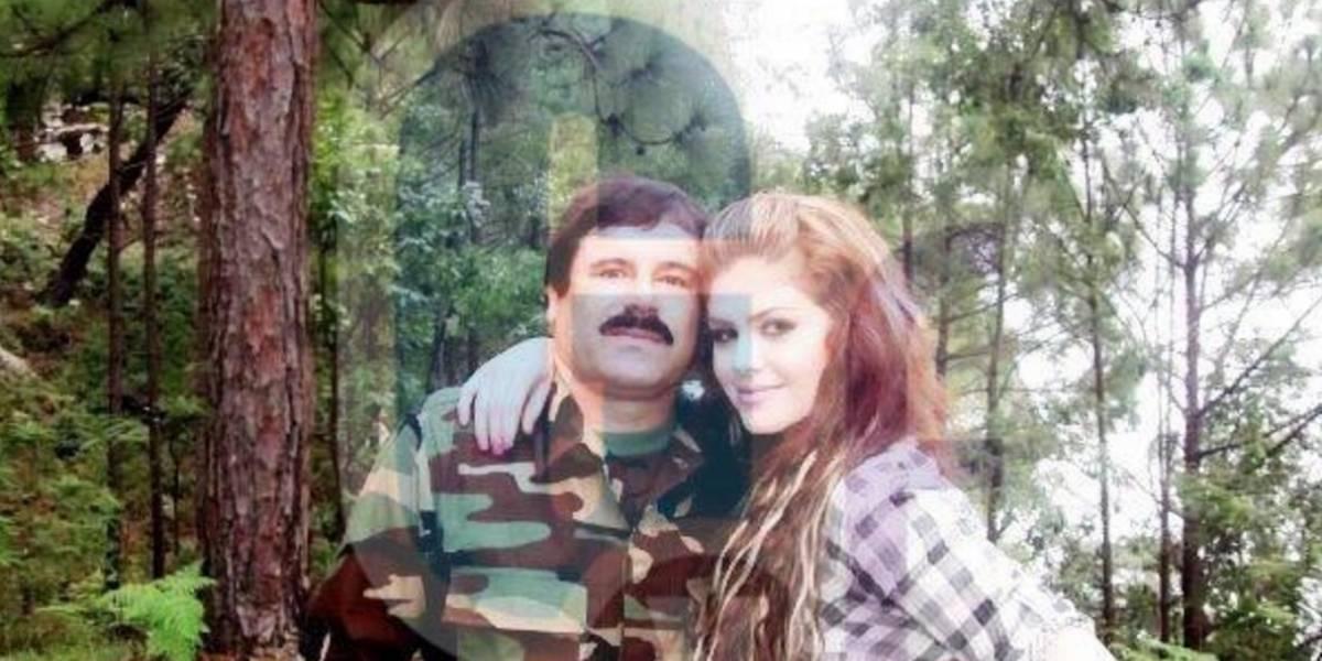 """Revelan fotos de el """"Chapo"""" Guzmán con su amante secreta"""