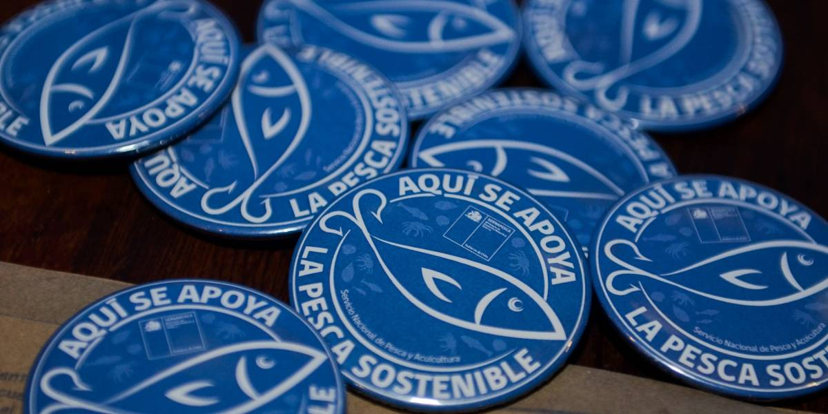 """Lanzan """"Sello Azul""""para restaurantes que tengan un compromiso de sostenibilidad con el recurso marino"""