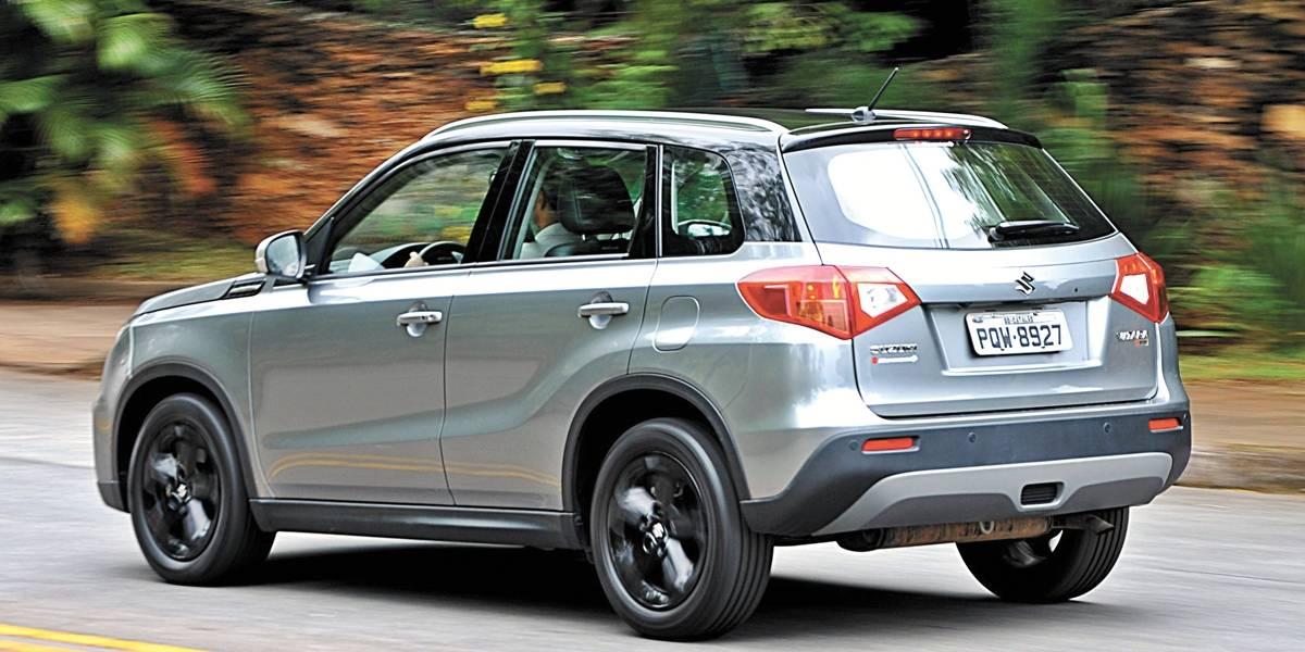 Nova geração do Vitara da Suzuki chega com motor 1.4 turbo e desempenho de esportivo