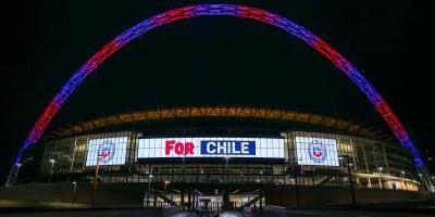 La Roja fue protagonista de la celebración cumpleañera del legendario Wembley