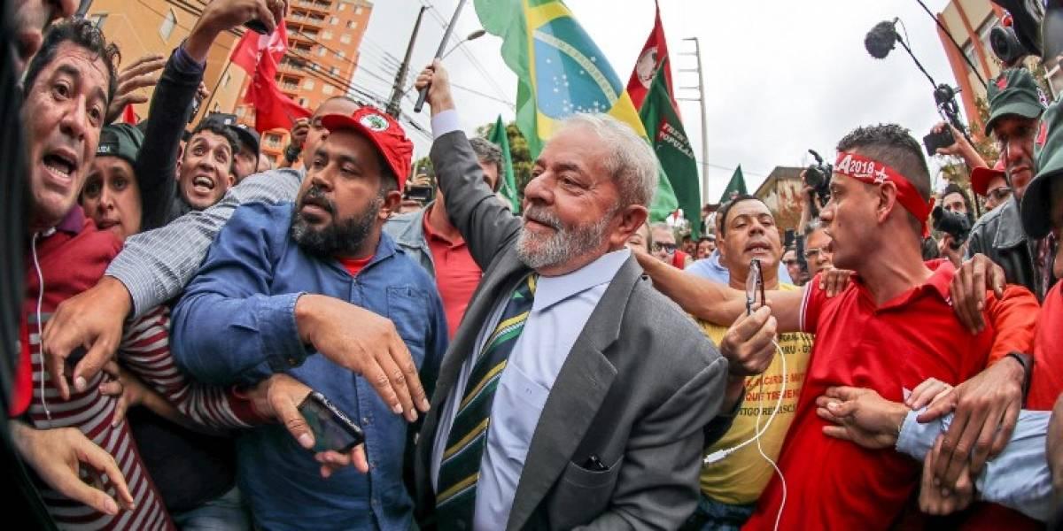 Lula pide salida de Temer y la celebración de elecciones directas en Brasil