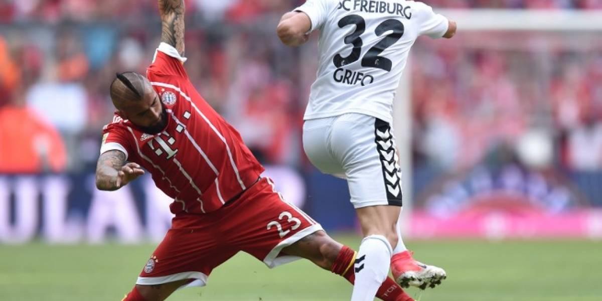 Sábado de goleadores: Vidal y Aránguiz marcaron en la última fecha de la Bundesliga