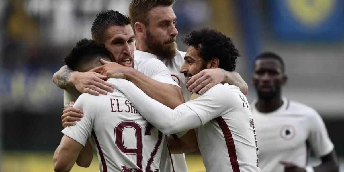 AS Roma goleó y apura a Juventus en la definición del Calcio