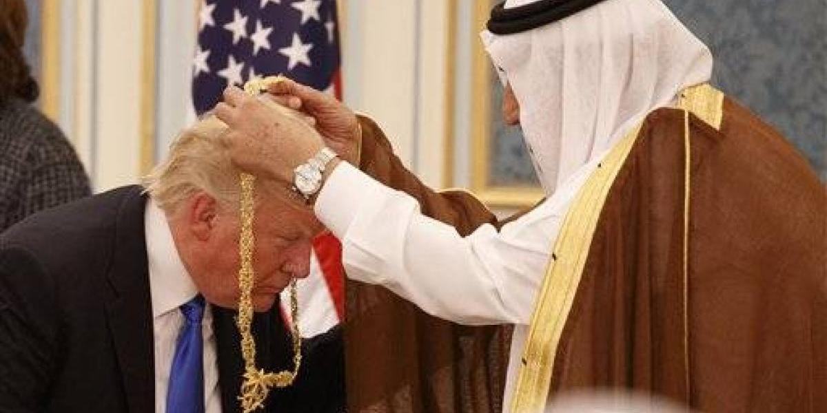 Trump regala armamento a Arabia Saudí