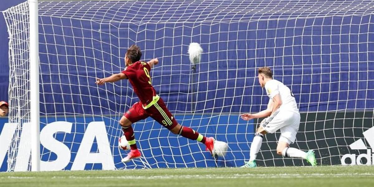 Venezuela sorprende al vencer a Alemania en el arranque del Mundial Sub 20