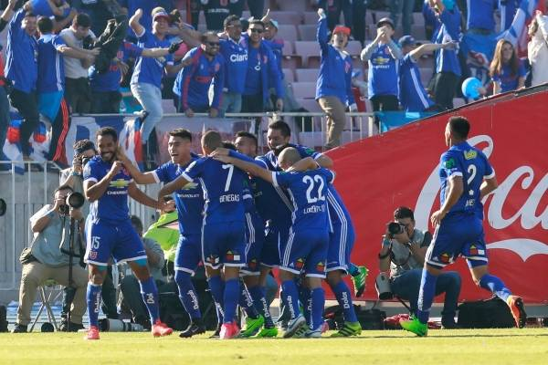 Universidad de Chile vs San Luis