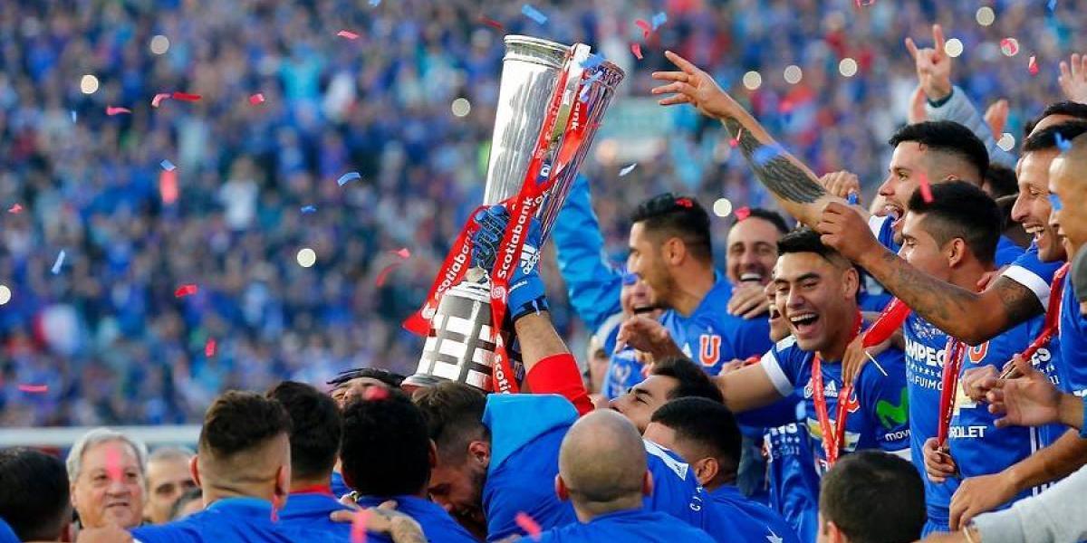 Con el Clausura 2017 reluciente: el rico palmarés de Universidad de Chile