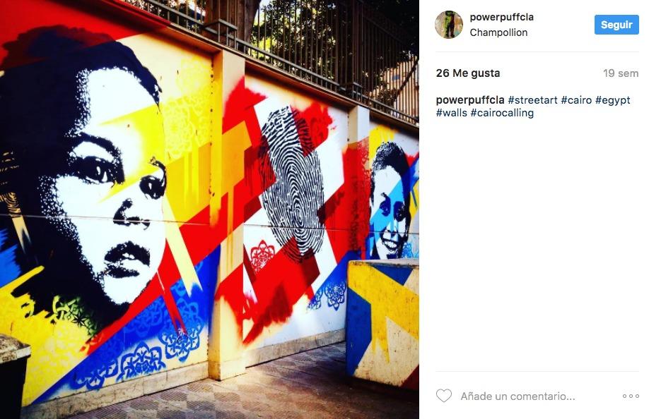 Street Art, Egipto
