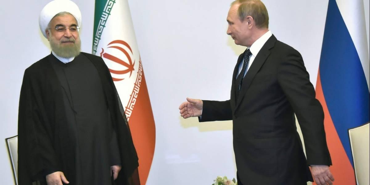 Hasan Rohaní ganó las elecciones en Irán y Vladimir Putín lo felicitó