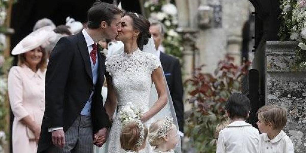 Pippa Middleton se casa con inversionista