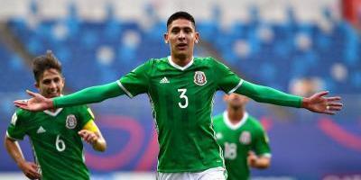 Con gol de Edson Álvarez, México debuta con triunfo en el Mundial Sub20