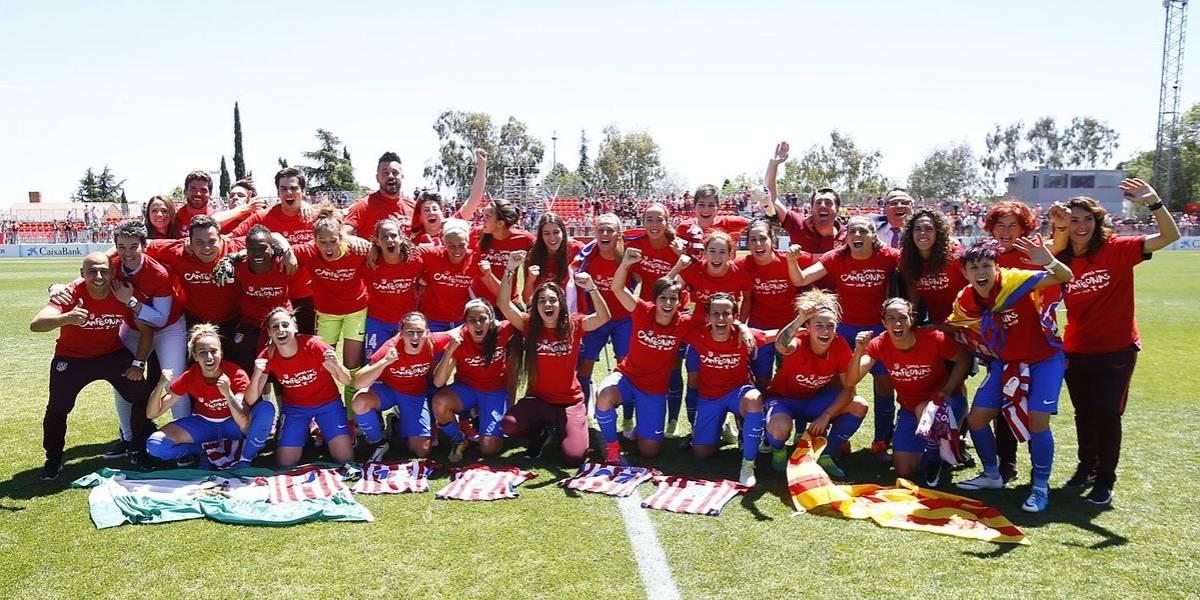 Futbolista mexicana se corona campeona de la Liga de España