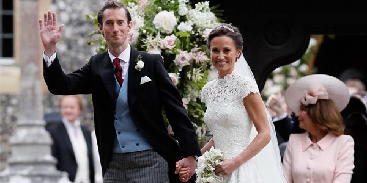 Pippa Middleton se casa en ceremonia llena de celebridades