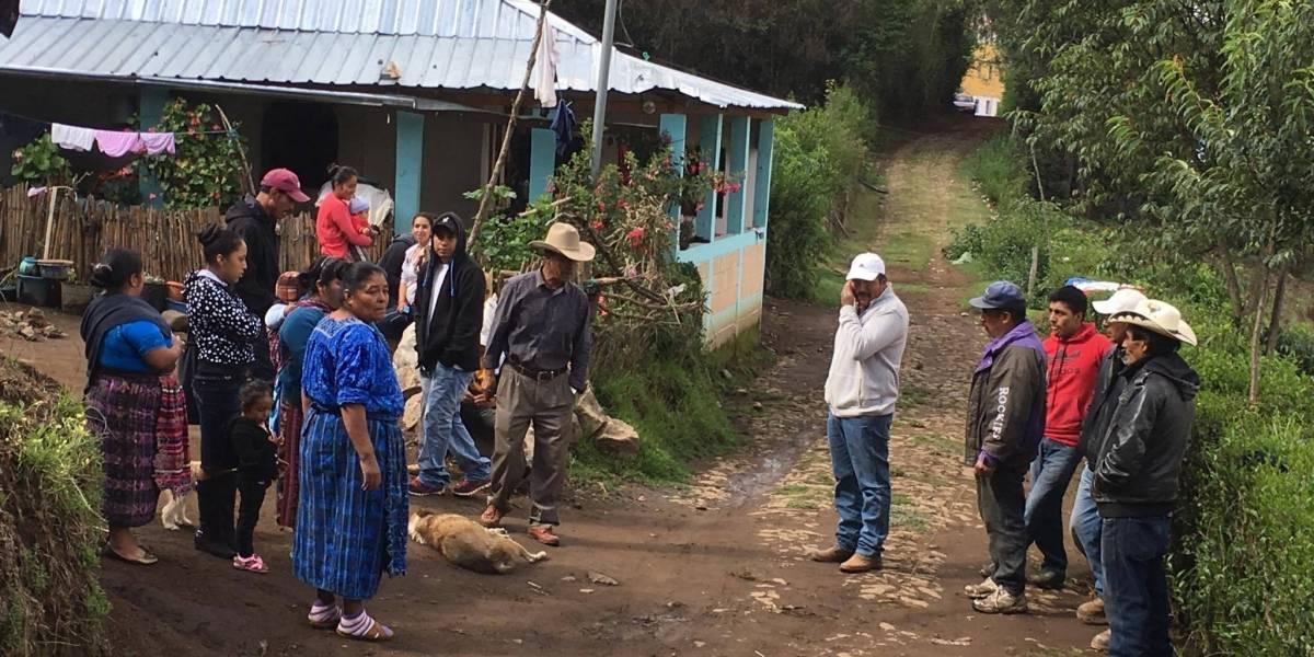 ¿Las mediciones de terreno acabarán con el conflicto entre Ixchiguán y Tajumulco?