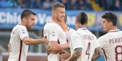 La Roma golea y pone presión sobre la Juventus