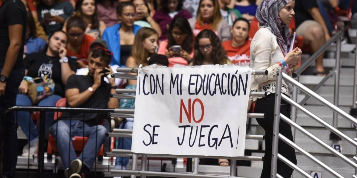 Movimiento Estudiantil UPR pide que se mantenga a la Policía fuera de conflicto