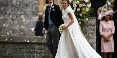 Una radiante Pippa Middleton se casó con el financiero James Matthews