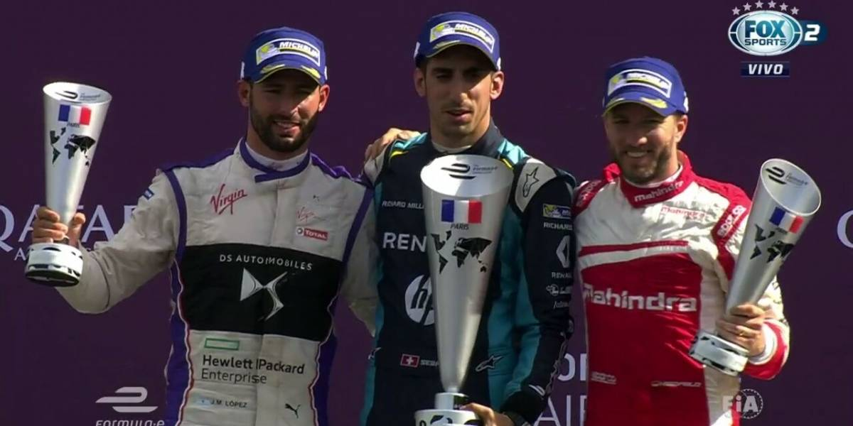 Buemi passeia e vence; brasileiros não vão bem no ePrix de Paris na Fórmula E