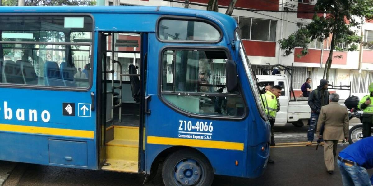 Bus del SITP atropella a adulto mayor
