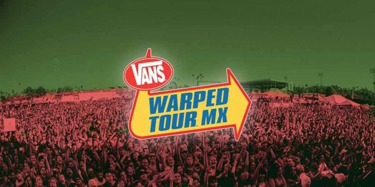 Warped Tour MX cambia de fecha y sede