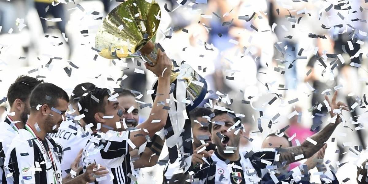 Juventus se proclama campeón en Italia y logra su sexto Scudetto consecutivo
