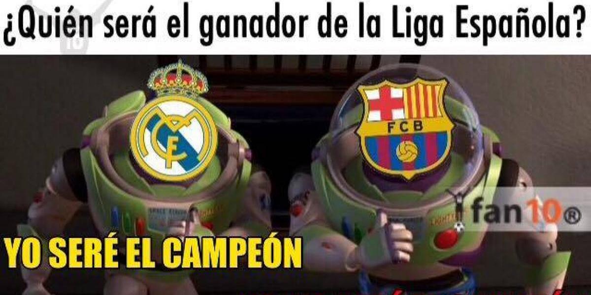 Los mejores memes del Real Madrid y Barcelona en su lucha por el título