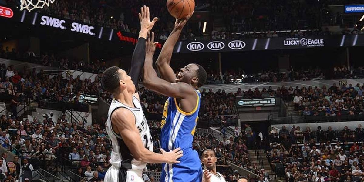 Golden State eleva ventaja de 3-0 ante Spurs