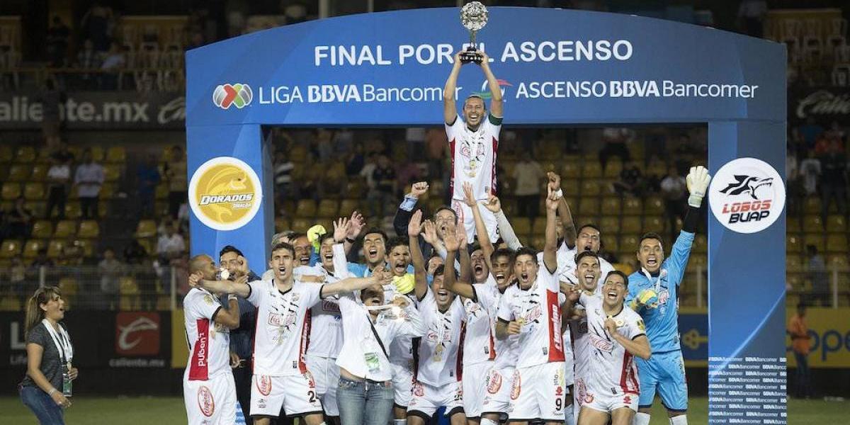 ¡Lobos BUAP consigue el ascenso a Primera División!
