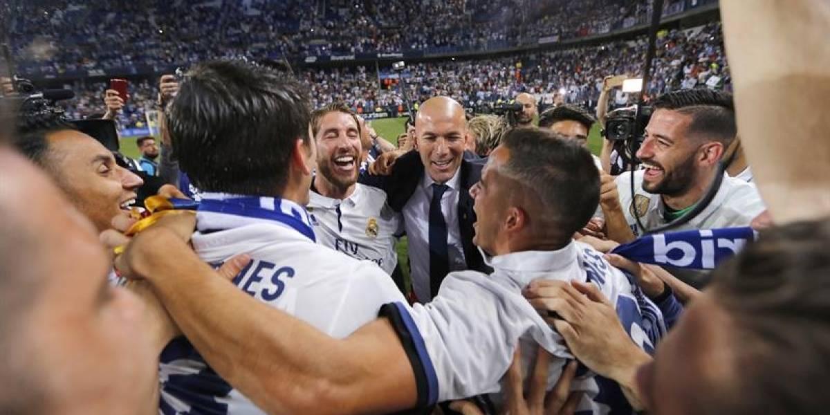 Real Madrid conquistó la Liga de España tras cinco años de sequía