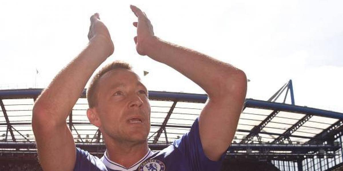 John Terry se despidió del Chelsea y su afición
