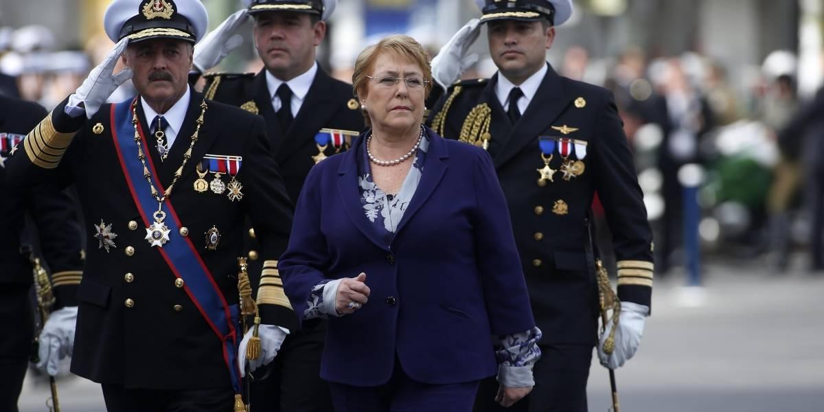 Bachelet valoró separación de aniversario de Glorias Navales y cuenta pública
