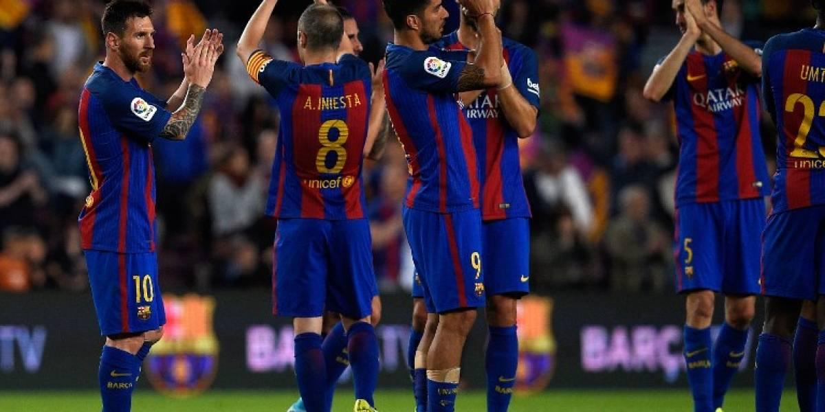 El Barcelona gana pero se queda sin LaLiga