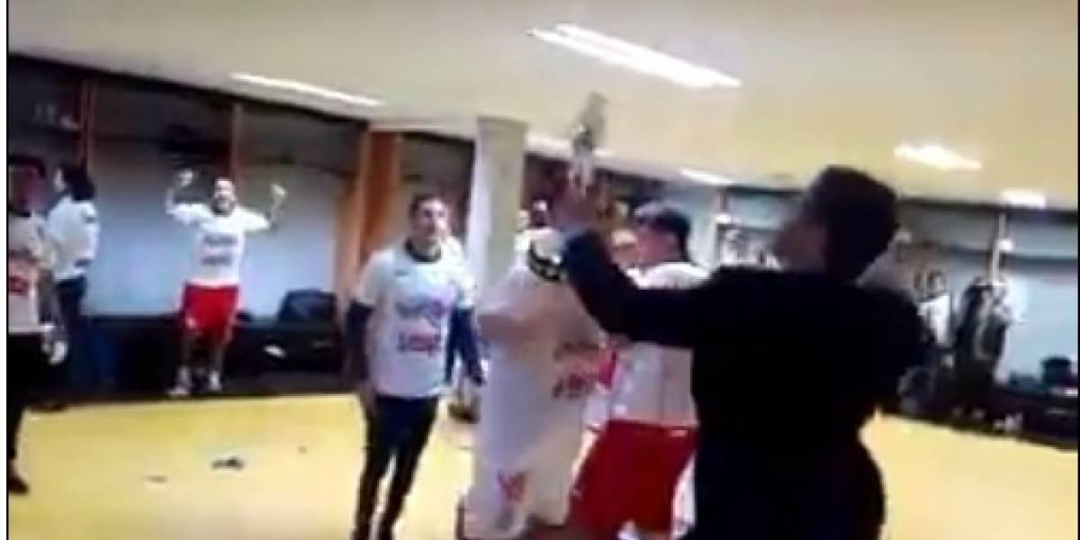 VIDEO: Así festejó Lobos BUAP su acenso a Primera División
