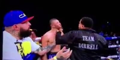 Tío de boxeador ataca a contrincante de su sobrino