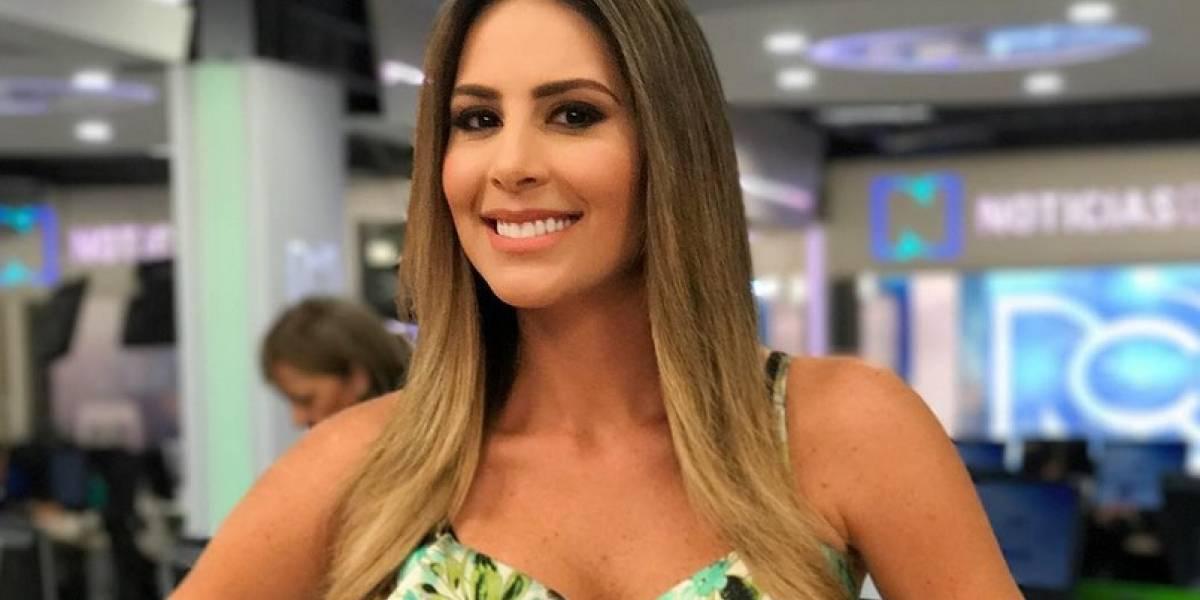 Carolina Soto fue criticada por bailar estando embarazada, y así respondió