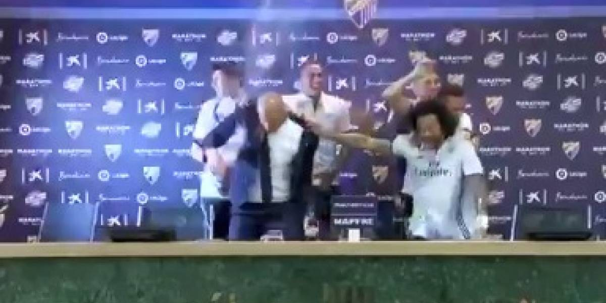 VIDEO: Jugadores del Madrid