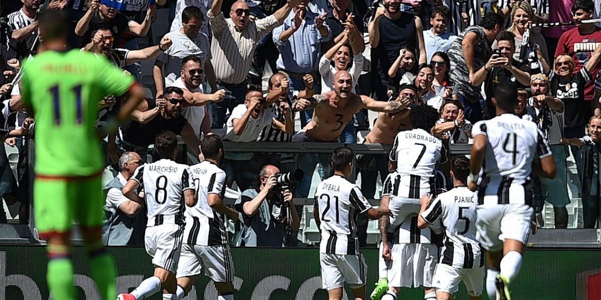 Juventus hace historia al ganar seis títulos seguidos en liga