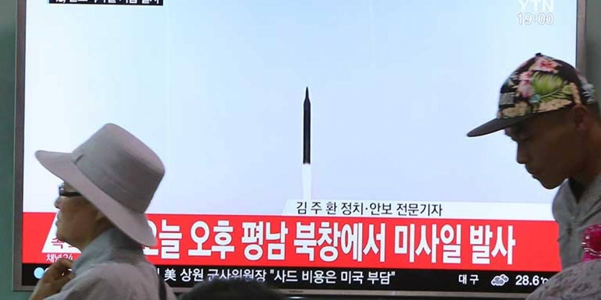 Corea del Norte lanza un proyectil de medio alcance