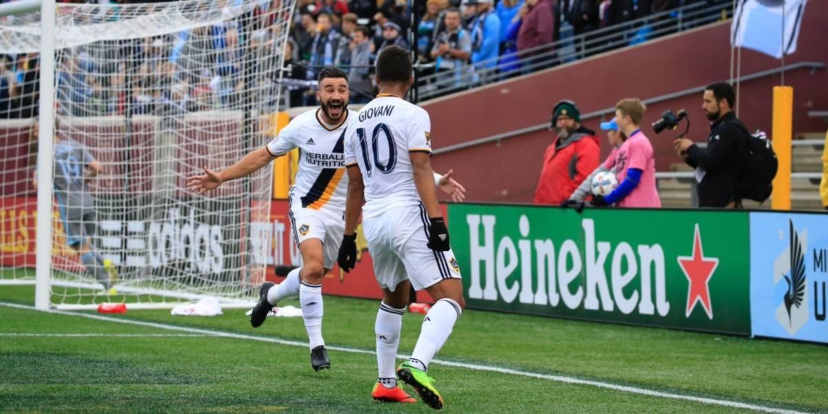 VIDEO: Giovani dos Santos marca golazo con el LA Galaxy