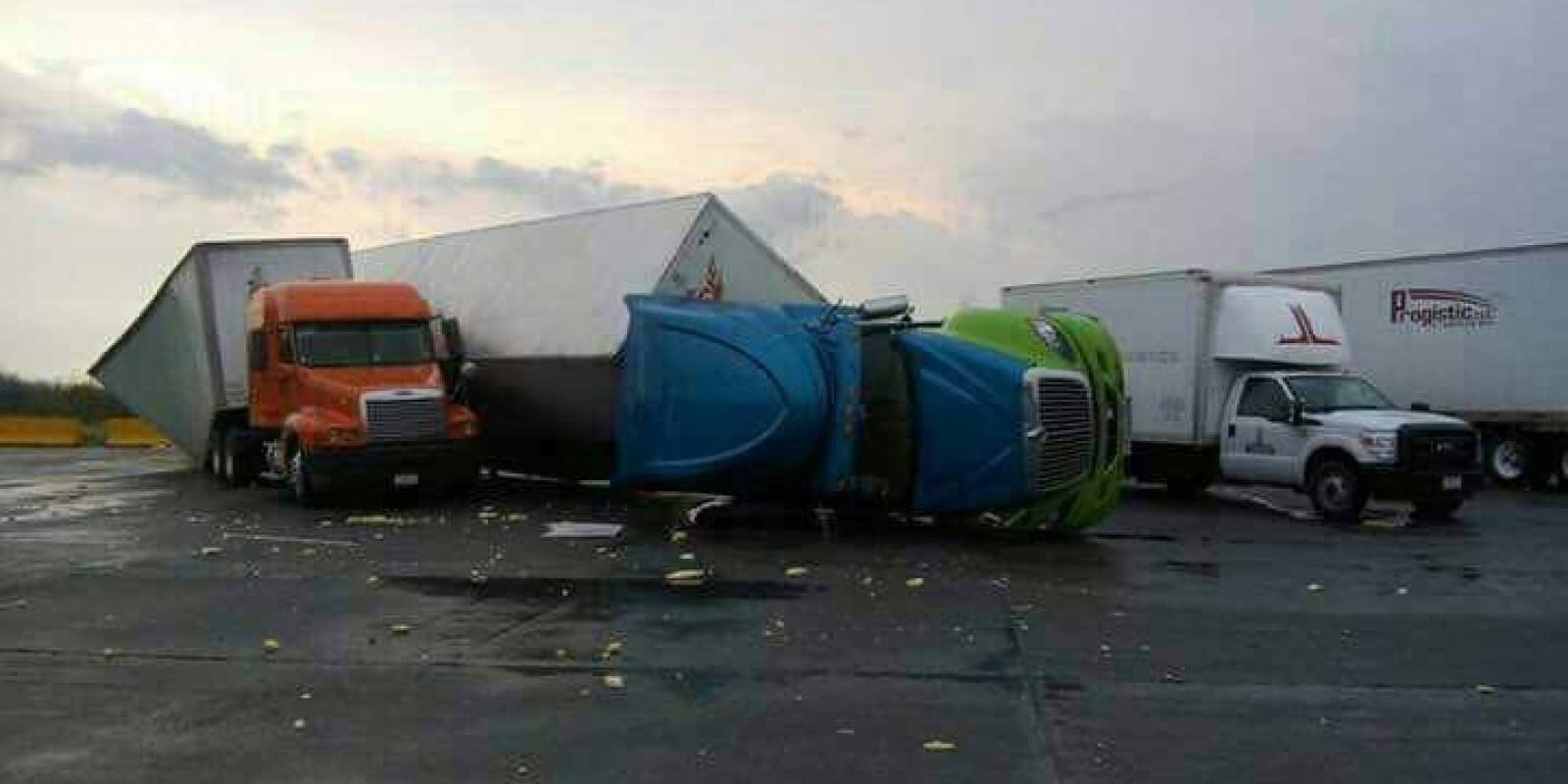 Tornado azota Nuevo Laredo