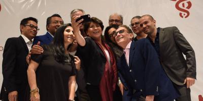 Delfina Gómez presentó al equipo que integraría su gobierno