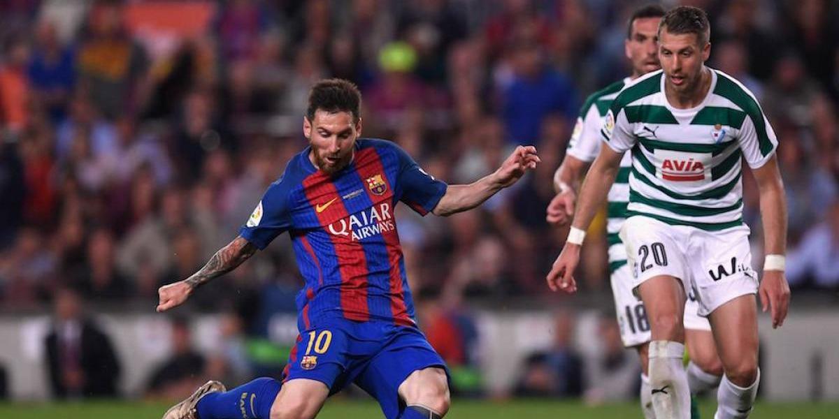 Lionel Messi se proclama campeón de goleo en España