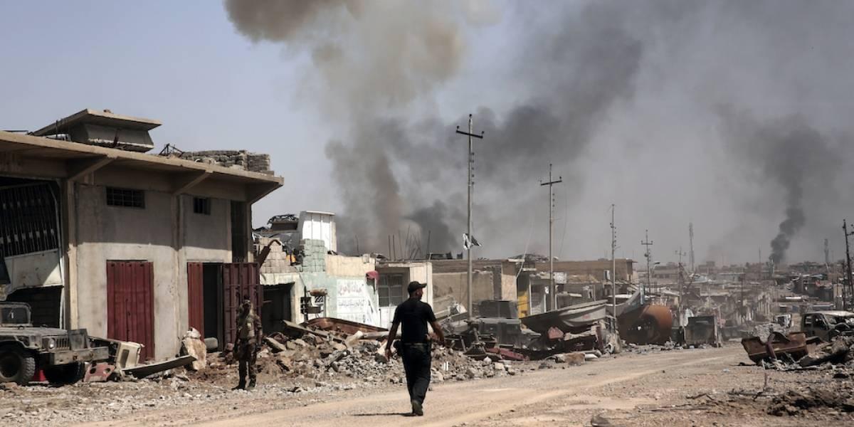 Abaten a líder del Estado Islámico en bombardeo en Mosul