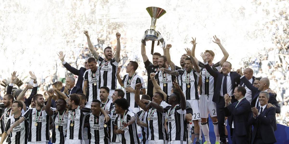 Juventus hace historia y se corona campeón de Italia