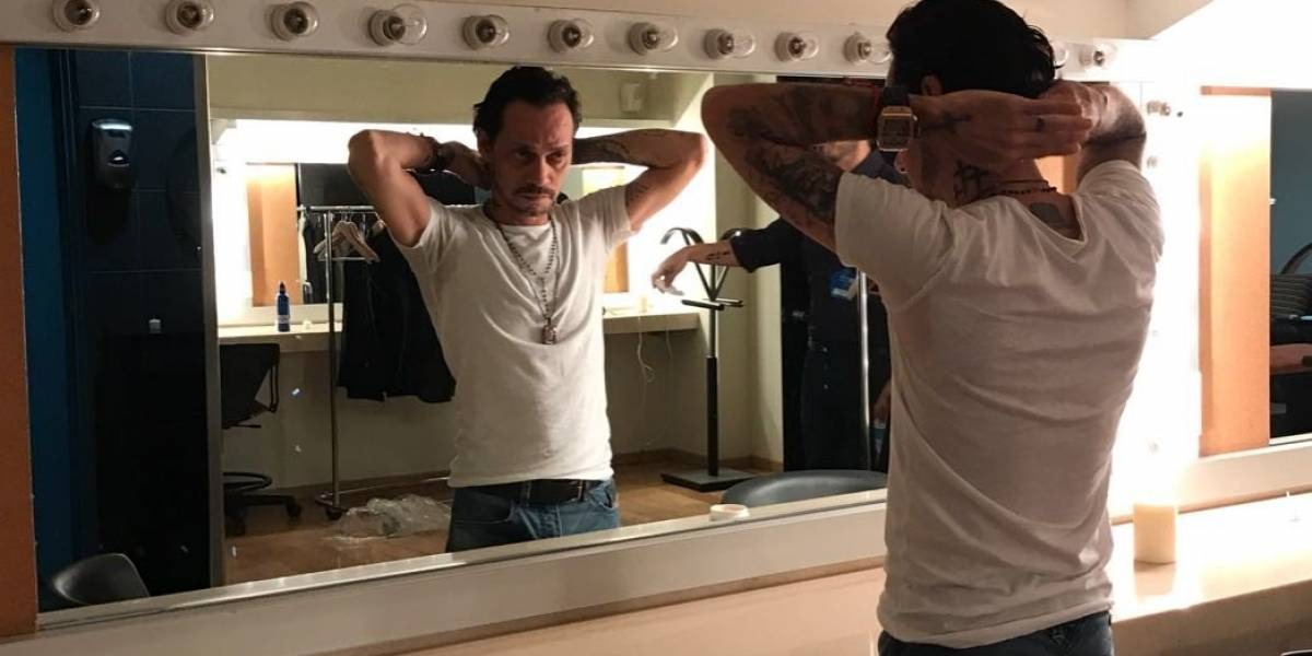 Marc Anthony sigue repartiendo besos en su gira