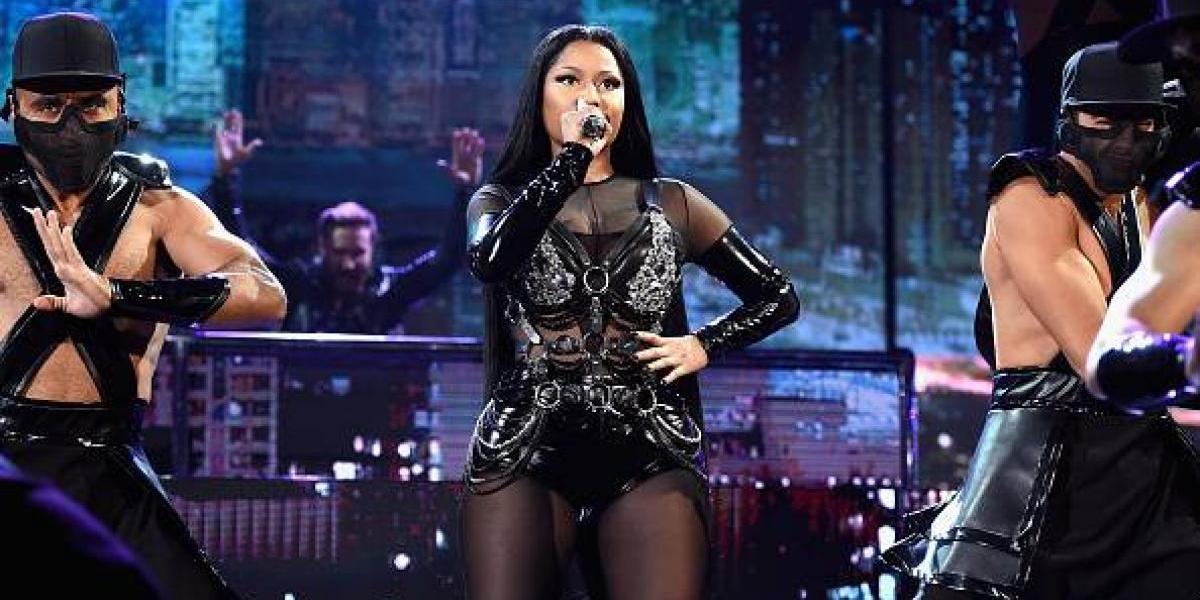 Nicki Minaj abrió la entrega de los premios Billboard 2017