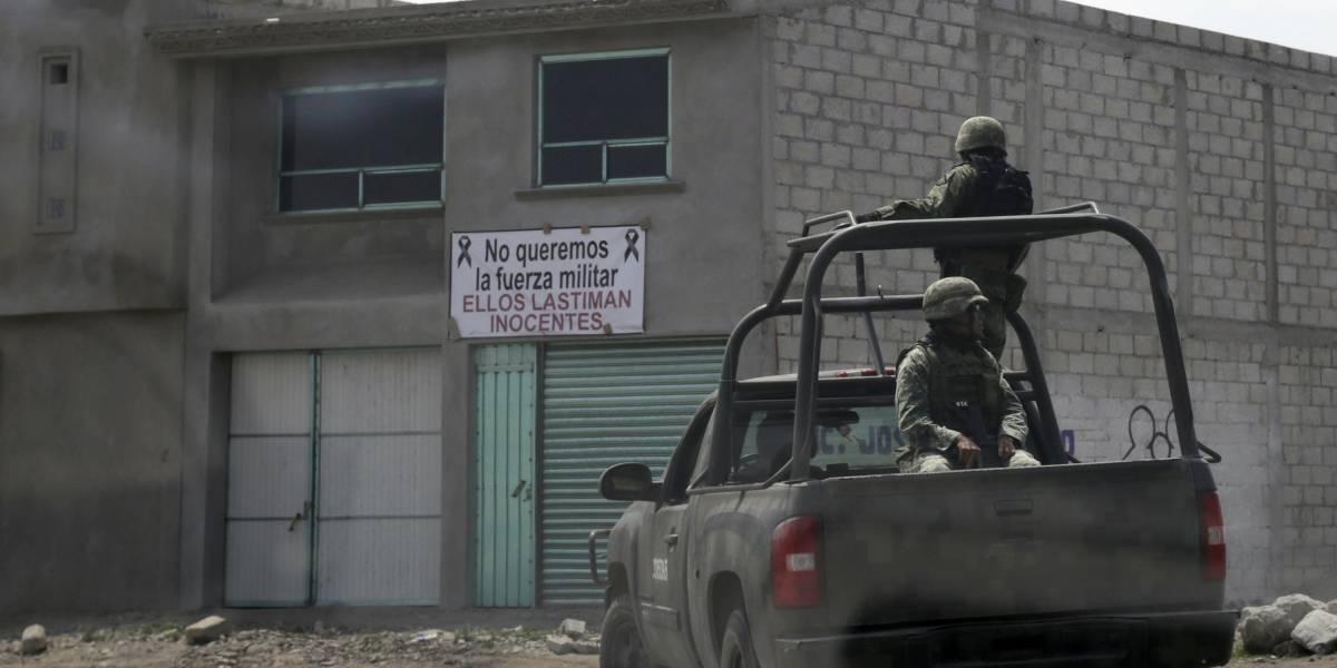Militares aseguran combustible, armas y una tonelada de marihuana en Reynosa